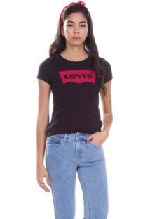 Camiseta Levis Logo Batwing Classic Feminino - Feminino