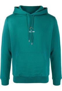 Etudes Logo Drawstring Hoodie - Verde