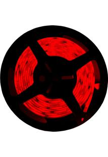 Fita Led Taschibra 5W 5M Bivolt Com Fonte Alimentação Vermelha
