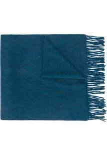 N.Peal Cachecol De Cashmere - Azul