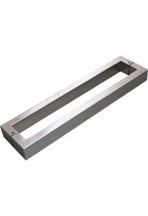 Puxador Para Porta Duplo 200Cm 2 Peças H40 Geris Inox Escovado