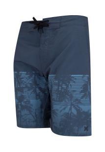 Bermuda Hurley Beachside Miami - Masculina - Azul Escuro