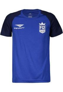 Camiseta Penalty F12 Jogo Juvenil - Masculino