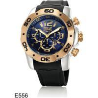 038a697d09e Netshoes. Relógio De Pulso Everlast Cronografo Pulseira Silicone E556 -  Masculino