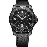 3247f6b1c46 Relógio Victorinox Swiss Army Masculino Couro Preto - 241787
