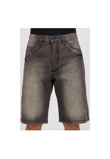 Bermuda Jeans Hd Living Preta