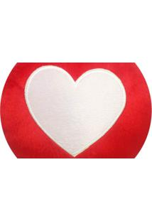 Almofada Capital Do Enxoval Emoji Coração Estampado