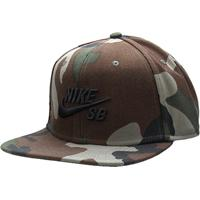 Boné Nike Aba Reta Sb Icon - Unissex-Verde Militar b653776e5cd