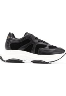 ca4e4b560171c Philipp Plein Platform Runner Sneakers - Preto