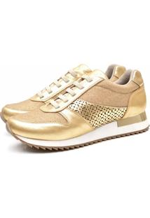 Tenis Life Rock 1000-1 Ouro