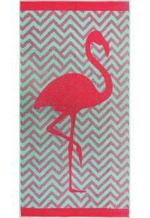 Toalha De Praia - Appel - Beach Flamingo
