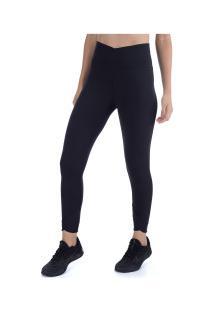 Calça Legging Nike Yoga Wrap 7/8 Tight - Feminina - Preto