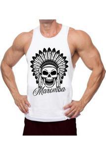 Regata Nadador Indian Skull Masculina - Masculino