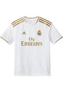 Camisa Real Madrid Infantil Home 19/20 S/N° Torcedor Adidas - Masculino
