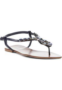 46cd840272 Rasteira Shoestock Pedras Gota - Feminino