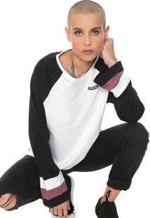 Camiseta Volcom Streakin Stone Branca/Preta