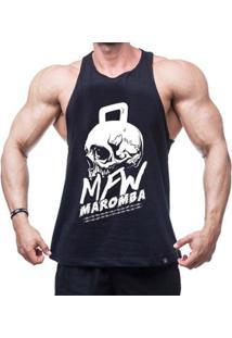 Regata Nadador Mfw Maromba Skull Masculina - Masculino