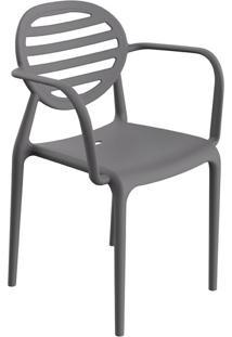 Cadeira Stripe Com Braço Konkret