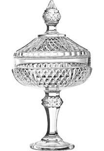 Bomboniere De Vidro Diamond Pasabahce 30,5Cm - 28231
