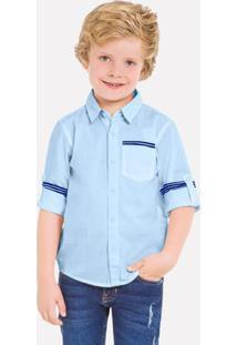 Camisa Infantil Masculina Milon Tricoline 10986.6799.4