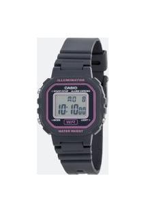Relógio Feminino Casio La 20Wh 8Adf Digital | Casio | Rosa Médio | U