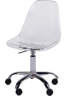 Cadeira Office Eames Dkr- Incolor & Prateada- 93X47Xor Design