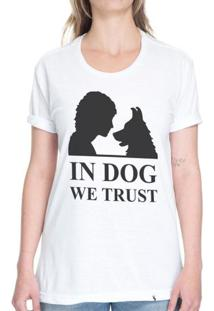 In Dog We Trust - Camiseta Basicona Unissex
