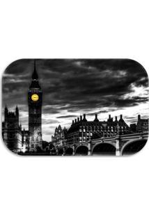 Tapete Decorativo Wevans London 40Cm X 60Cm Preto