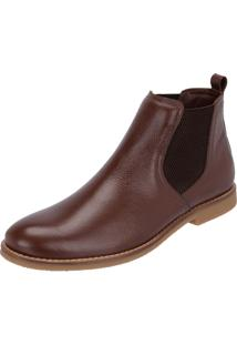 Botina Chelsea Boots Sir.W Original Floater C/Elastico Café 502