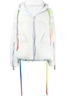 Khrisjoy Oversized Puffer Jacket - Branco