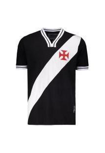 Camisa Vasco Braziline Retrô 74 Masculina