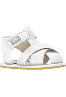 Sandália Bebê Bibi Masculino Branco - 14