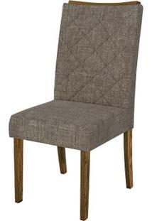 Cadeira Golden 2 Peças - Linho Bronze - Demolição