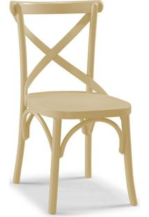 Cadeira De Jantar X Marrom Claro