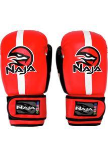 Luva De Boxe / Muay Thai Naja Classic 14 Oz - Unissex