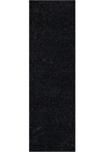 Passadeira Veludo Life Confort Black L100_L 66X230