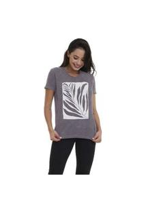 Camiseta Jay Jay Basica Tropical Chumbo
