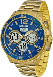 Relógio Analógico & Digital Quartz Xmgsa005D2Kx- Inox & Orient