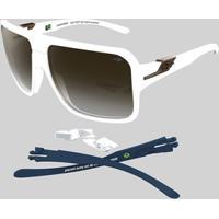 Home Bolsas E Acessórios Óculos De Sol Branco Mormaii 2757c46edd