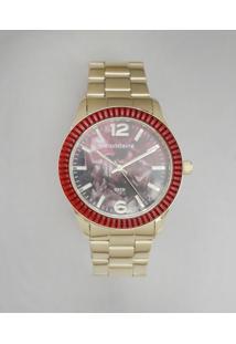 Relógio Analógico Mondaine Feminino - 76596Lpmvde3 Dourado - Único