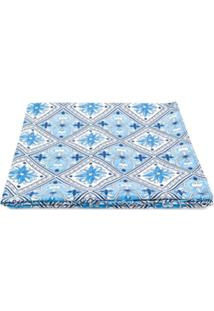 Mc2 Saint Barth Kids Cobertor Com Padronagem - Azul