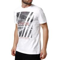 751ba8ca8a Camiseta Manga Curta Masculina Habana Branco