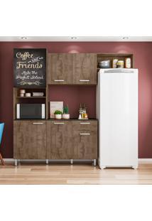 Cozinha Compacta 6 Portas E 1 Gaveta Giulia - Poliman - Demolição