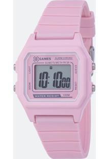 Relógio Feminino Xgames Xlppd026 Bxrx Digital 10Atm
