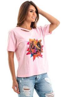 Camiseta Equivoco Egito Feminina - Feminino