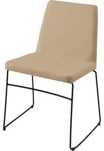 Cadeira Avec Bege Base Preta - 55903 - Sun House
