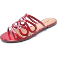edb932a32 Rasteira Capri Verniz feminina   Shoes4you