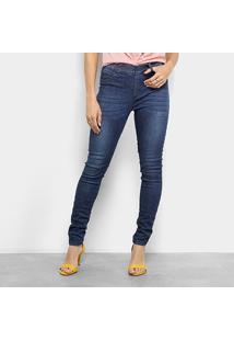 Calça Jeans Skinny Cantão Comfort Cintura Média Feminina - Feminino 0333278c97b28