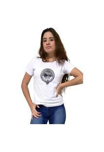 Camiseta Feminina Cellos Boom Box Premium Branco