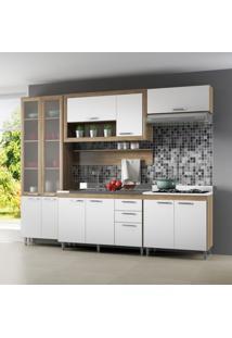 Cozinha Compacta Adriane I 11 Pt 3 Gv Argila